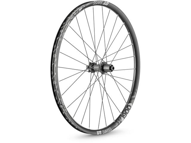 """DT Swiss H 1900 Spline Rear Wheel 29""""/30mm Carbon IS 6bolt 148/12mm TA Boost Shimano, black/white"""